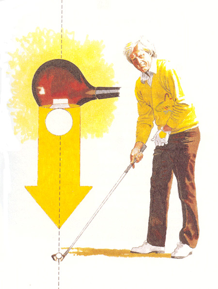 Aim The Clubface First