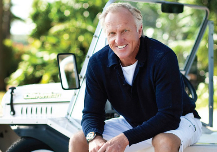 Greg Norman Now