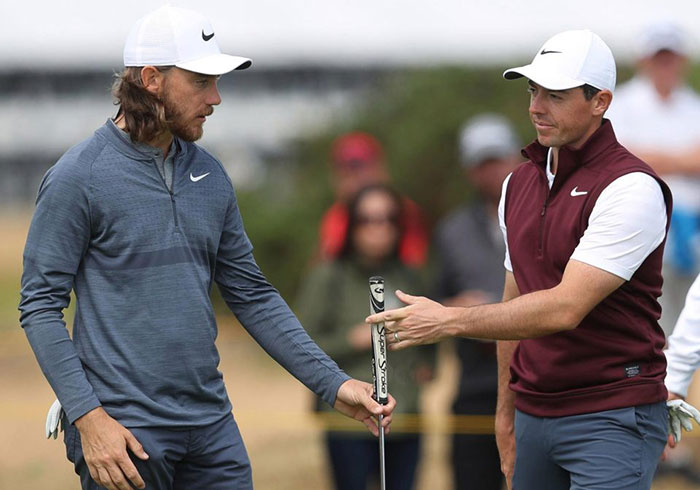 Tommy Fleetwood, Rory McIlroy