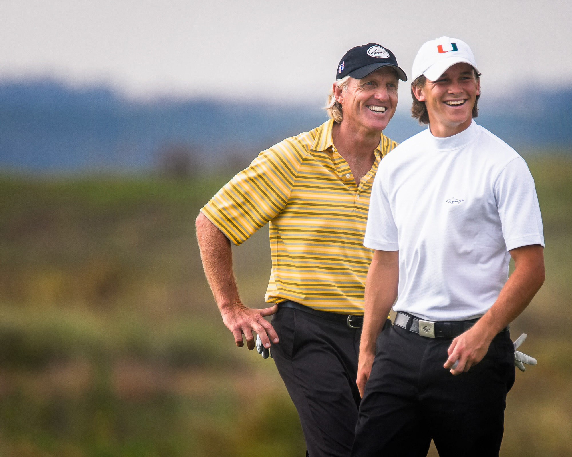 Greg Norman and Greg Norman, Jr.