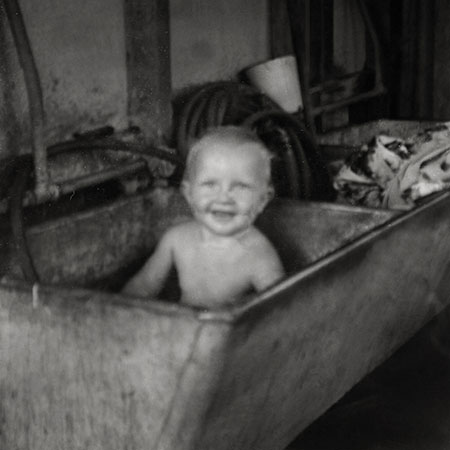 Greg Norman as a Baby