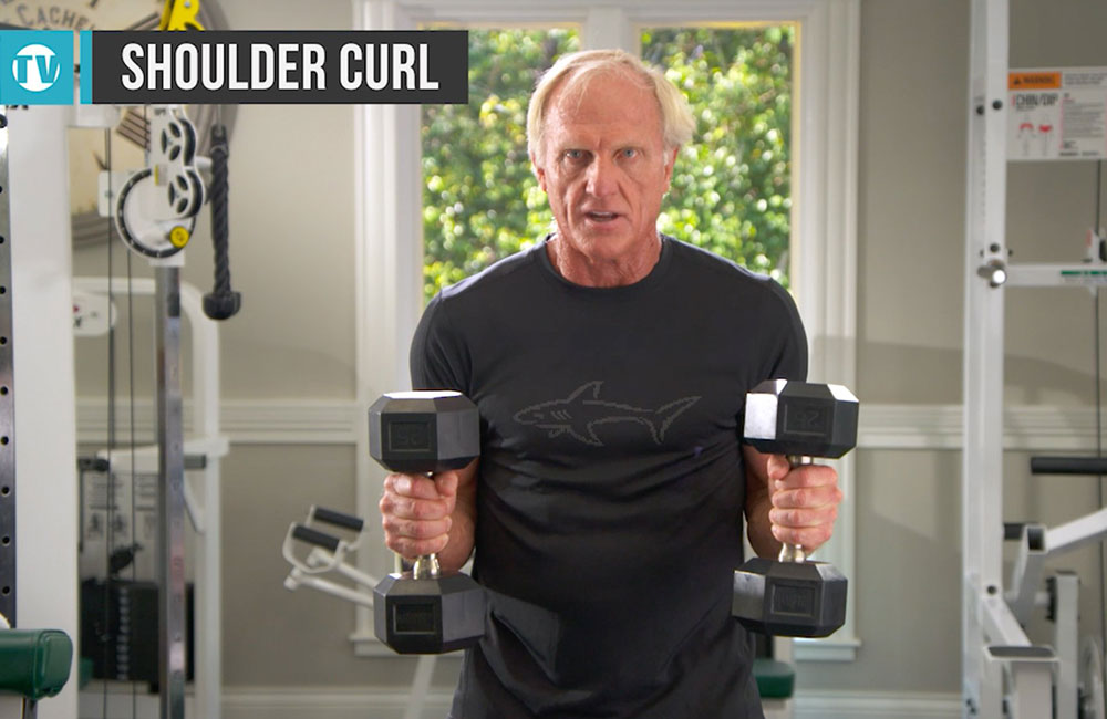 Shoulder Dumbbell Curls