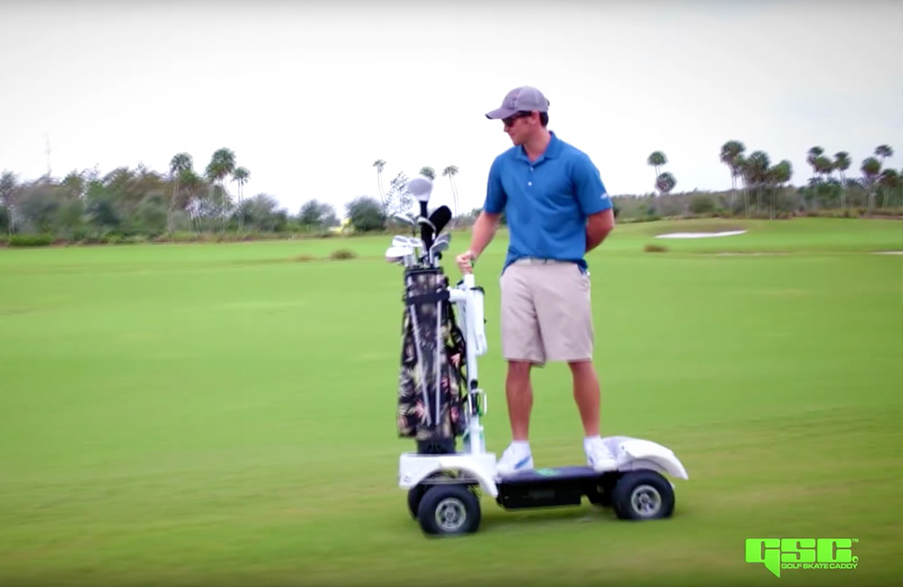 Greg Norman Jr. Joins Golf Skate Caddy