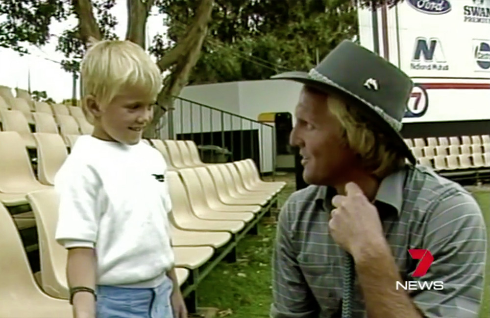 The Moment Matt Jones First Met Greg Norman