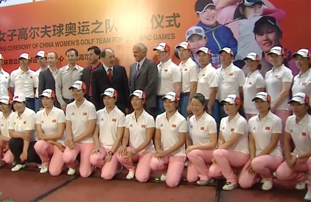 Norman Discusses Role With China's National Golf Team